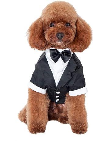 VICKY-HOHO 💥Caballero Ropa para Mascotas, Traje de Perro Corbata, Vestido Formal