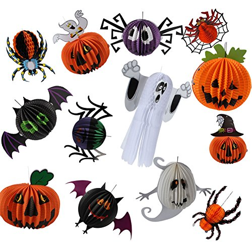 Vintage Series Table Lamp (IDOMIK Halloween Decorations Inflatable Yard Garden Party Outdoor Indoor Decor Cute Funny Spiders Ghost Pumpkin Bat Set (Pack of 13) Prop Haunted House Spooky Scary Traditional Kit)