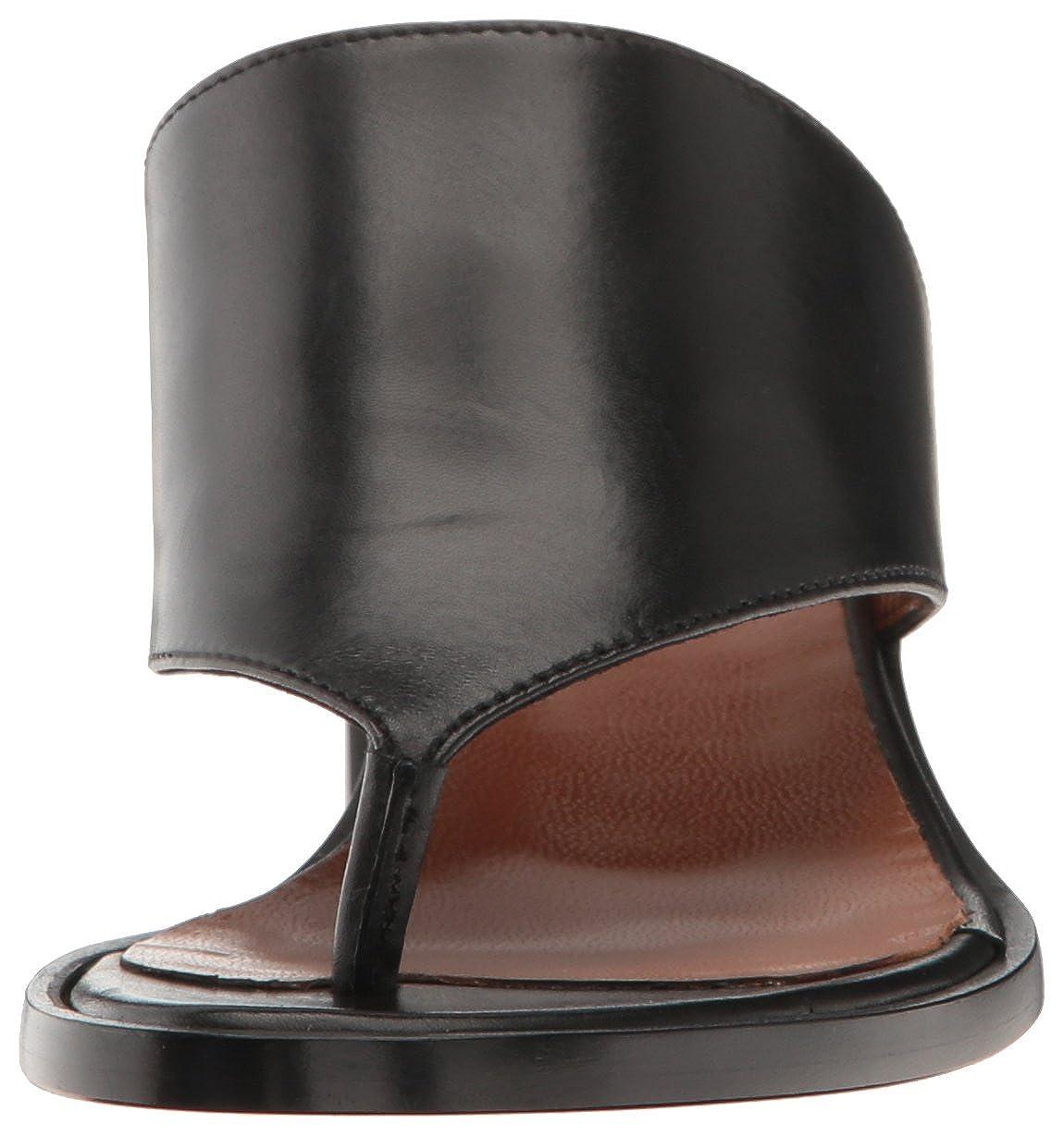 Aquatalia Womens Rosaria Calf Slide Sandal 34L1136-BLK