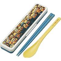 Skater斯凯达 组合用筷子 汤匙 套装 小黄水晶3 怪盗胶迷你翁大逃走 日本制造 CCS3SA