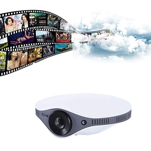 LMtt Mini proyector, LED Full HD Video proyector 1080P apoyado ...