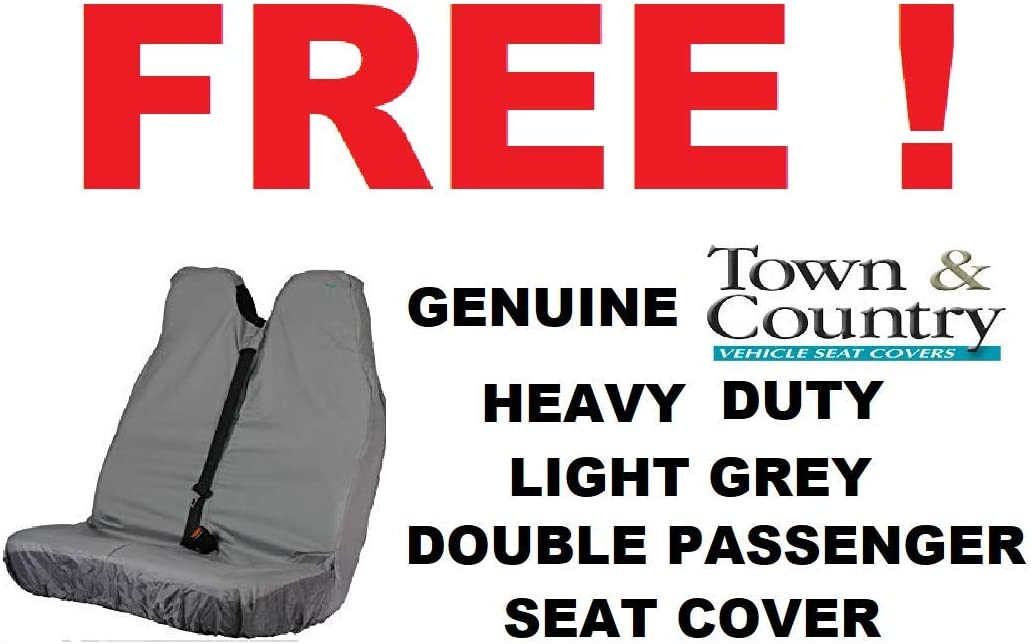 BLUESPOT VAN LOCK /& Free Town /& Country Van Double Passenger Seat Cover