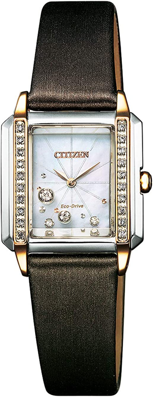 Citizen Eco-Drive EG7068-16D - Reloj de pulsera para mujer