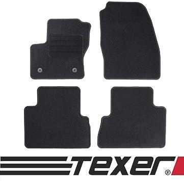 Texer Textil Fußmatten Passend Für Ford C Max Ii Bj 2012 2019 Basic Auto