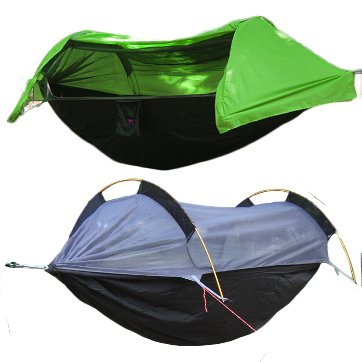 WintMing Patent Camping Hammock with Mosquito Net