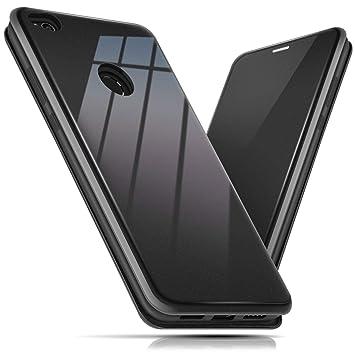 BEZ Funda para Huawei P8 Lite 2017, Carcasa de Teléfono Wallet Flip Case para Huawei P8 Lite 2017, Protectora Tipo Estuche Brillante, Cierre ...