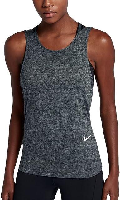 Amazon Com Nike Womens Dry Yoga Fitness Tank Top Clothing