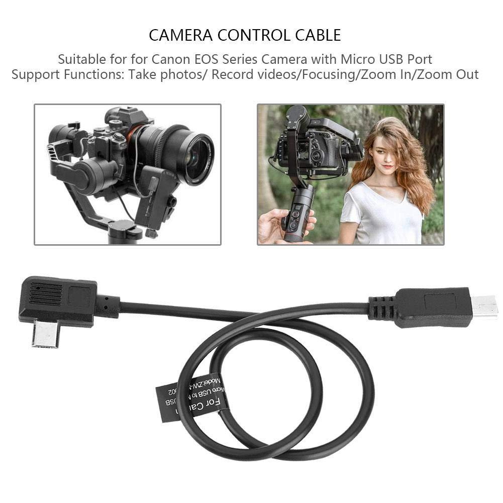 Cable de Control de c/ámara para Canon Zhiyun Crane2//M Cable de Control de c/ámara para c/ámaras Canon Serie EOS