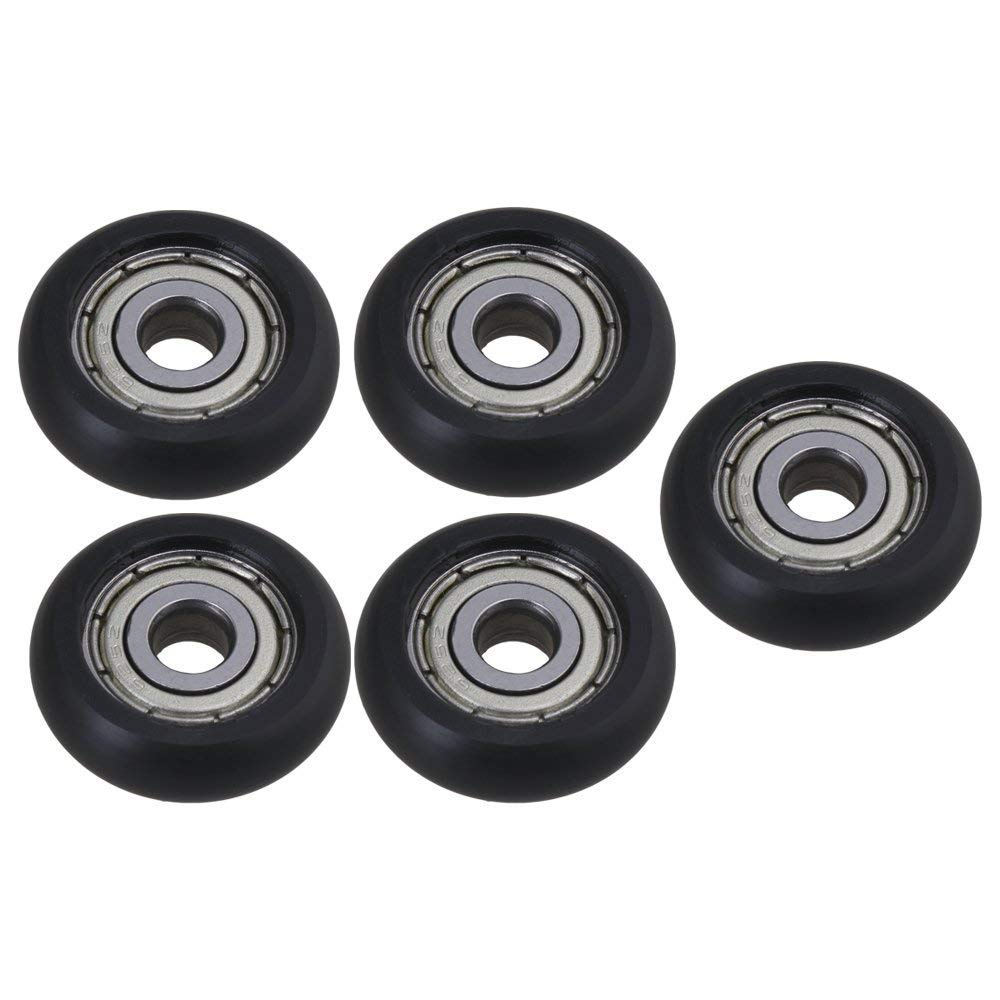 V-slots POM Models Roller Wheels for 3D Printer Ender 3 Creality CR-10S CR-10 Plastic Pulley V Groove Ball Bearings Passive Round (SENT OUT FROM UK)