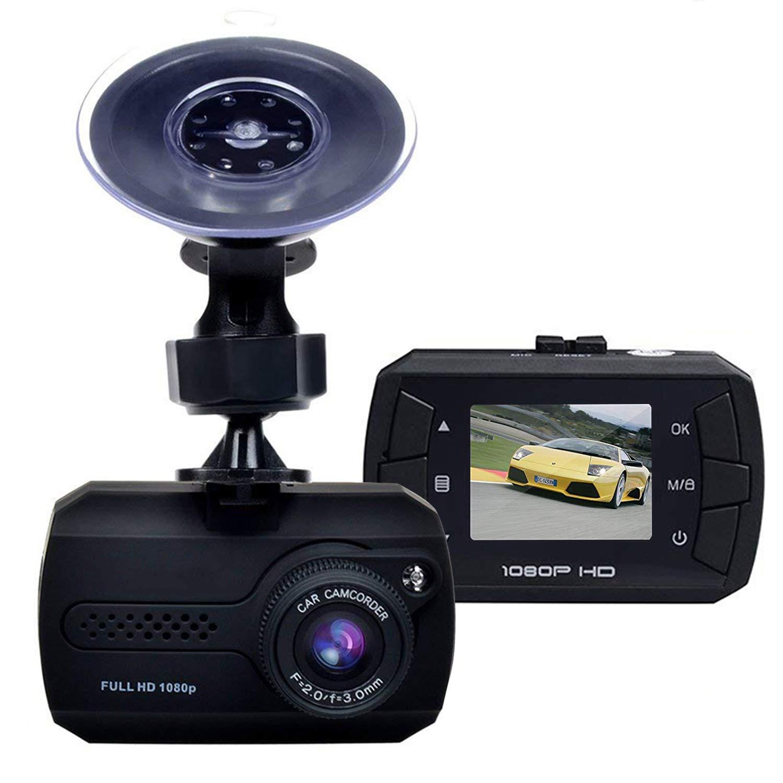 enregistreur en Boucle capteur G Cam/éra embarqu/ée pour Tableau de Bord de Voiture 1080p HD 1,5 LCD DVR Cam/éra de Tableau de Bord d/étection de Mouvement Grand Angle 140 /°
