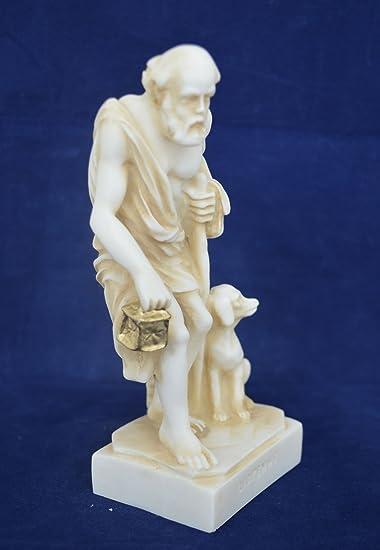 Amazon.com: Estia creaciones Escultura Diógenes el Cynic ...