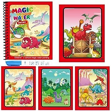 Amazon.com: TREGIA - Libro mágico de dibujo con 10 tipos de ...