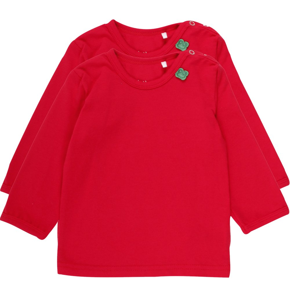 Fred's World by Green Cotton Baby-Mädchen T-Shirt Rot (Red 019176206) 86 1512016601