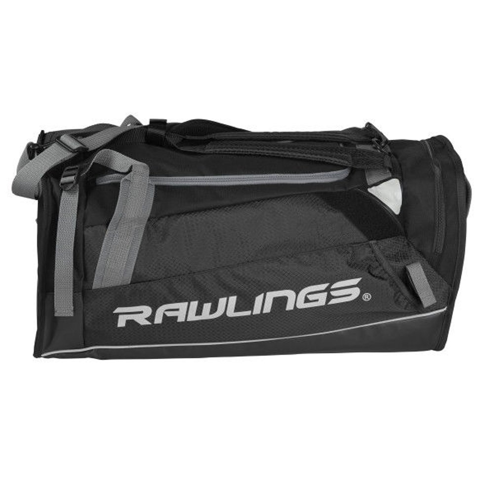 RAWLINGS Hybrid Duffel/Backpack Baseball/Softball Bag, Black by RAWLINGS