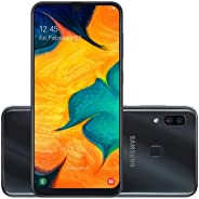 Smartphone Samsung Galaxy A30, 64Gb, Tela 6.4'', Preto, Sm-A305Gzkrzto