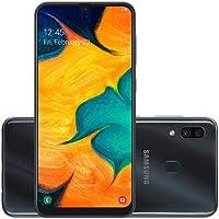 Smartphone Samsung Galaxy A30 Preto A305G Octa Core 64GB Camera Dupla Traseira 16MP + 5MP