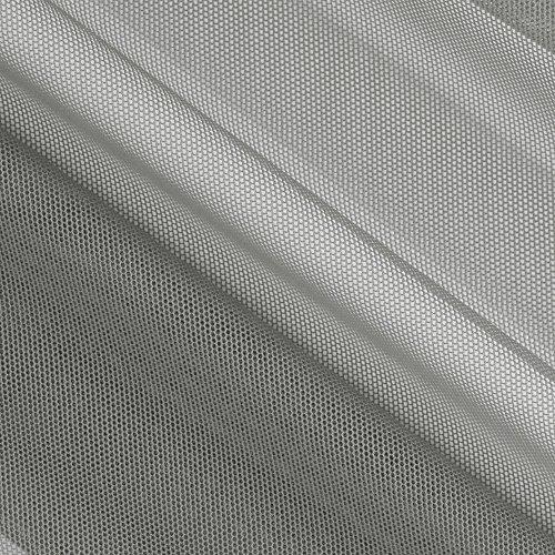 - TELIO Stretch Nylon Shaper Mesh Grey Fabric by The Yard