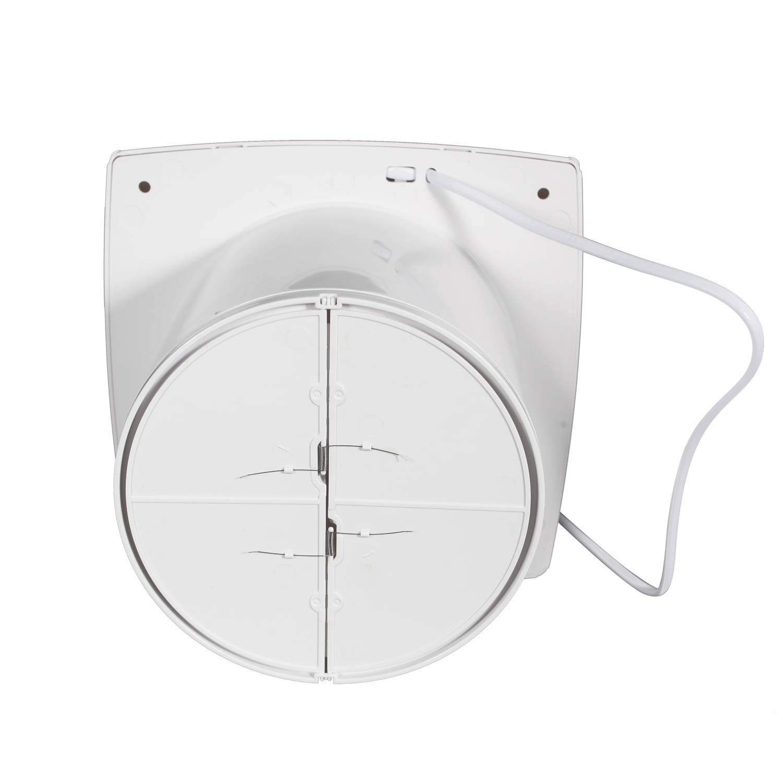 Dormitorio Ba/ño Hon/&Guan 150mm Ventilador Extractor de Aire Silencioso 201m/³//h para Oficina
