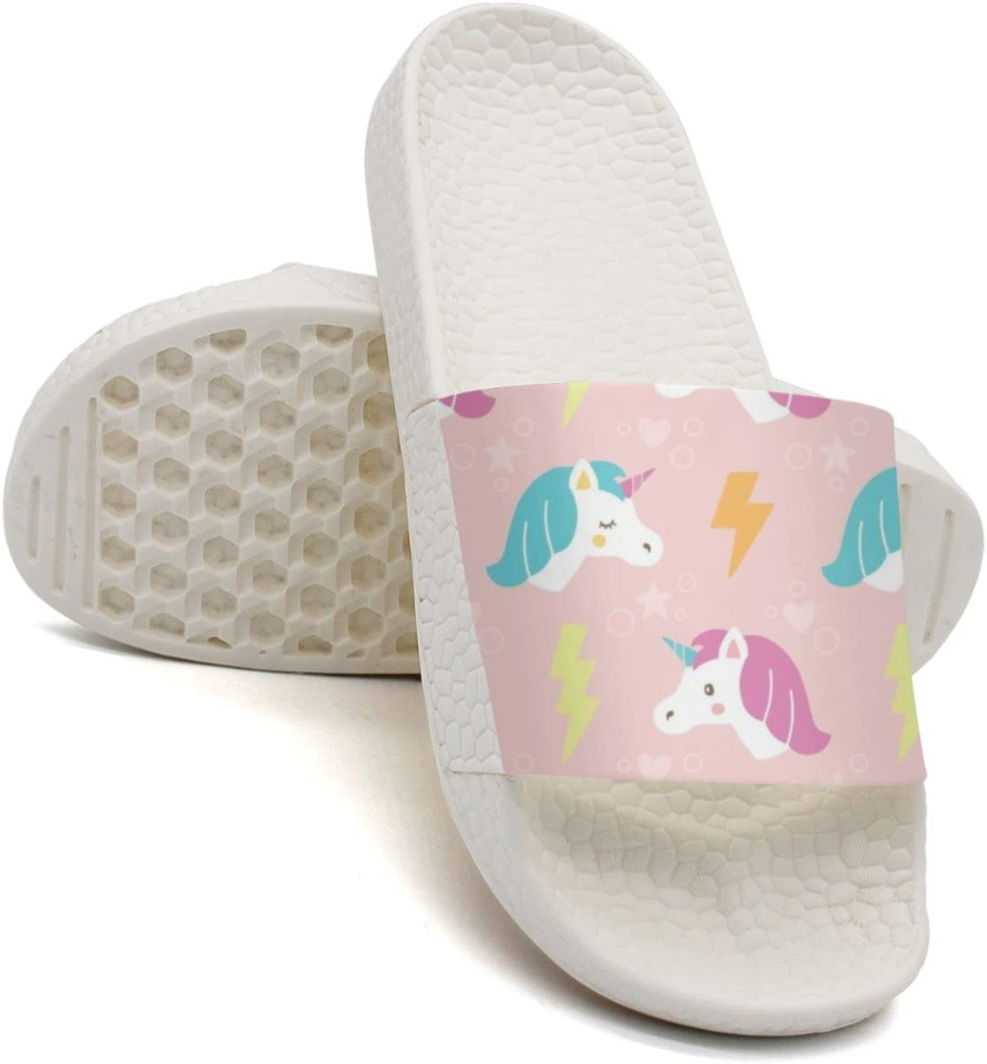 HSJDAPOCOAQ Unicorn Ate My Homework Summer Slides For Men