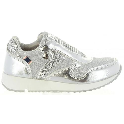 Zapatillas Deporte de Niña LOIS JEANS 83828 300 Plata: Amazon.es: Zapatos y complementos