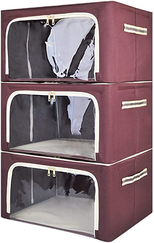 Organizadores TongN 3 cajas de almacenaje plegable - Caja de ...