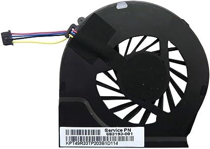 Original CPU Cooling Fan for HP Pavilion g7-2002xx g7-2010nr g7-2017cl g7-2017us