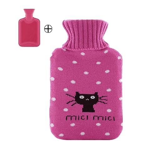 Botella de agua caliente media / bolsa de calentador de agua / bolsa de agua caliente