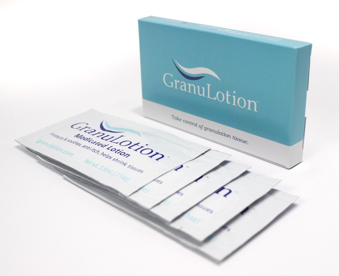 GranuLotion Medicated Lotion Box of (5) 3.5mL Packets by GranuLotion