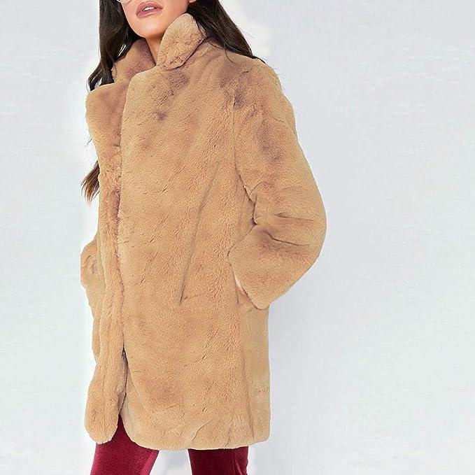 Abrigos de otoño Invierno, Dragon868 Super Mujeres cálidas Abrigos de Lana largas para el Tiempo frío: Amazon.es: Ropa y accesorios