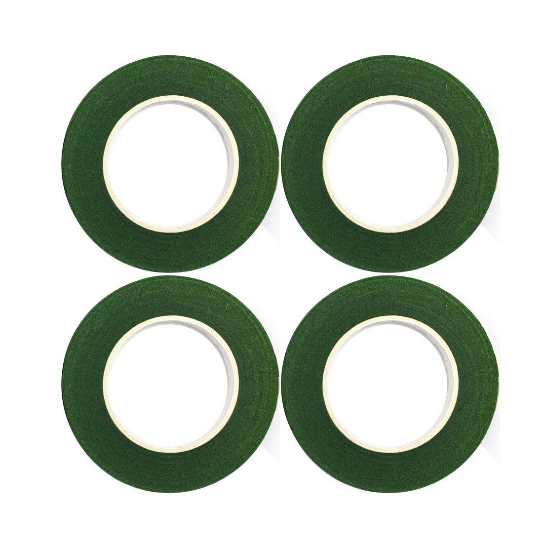 Decora 4 Rolls 1/2by 120 Yard Dark Green Floral Tape for Stem Wrap 4336861511