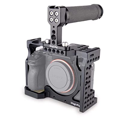 MAGICRIG - Jaula para cámara réflex Digital con asa Superior para ...