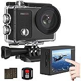 Dragon Touch アクションカメラ 4K高画質 1600万画素 ウェアラブルカメラ WIFI搭載 2インチ液晶画面 100ft防水カメラ 170度広角レンズ リモコン付き スポーツカメラ アクセサリー多数 水中カメラ 防犯カメラ[Vision3 pro]