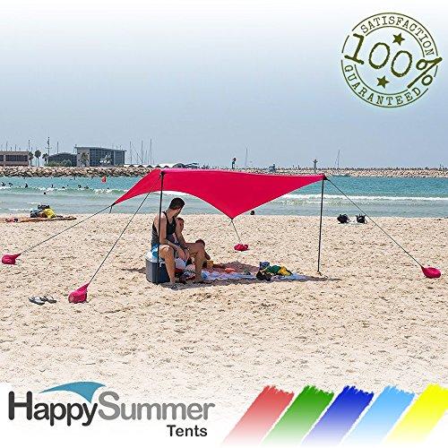 HappySummer anchors lightweight SunShelter protection product image