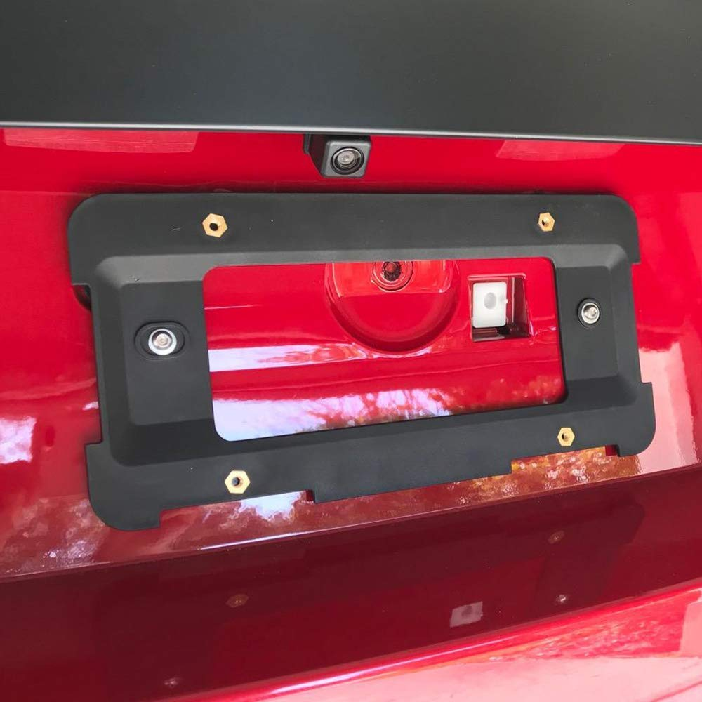 JoyTutus Fits BMW 5-Pack Rear License Plate Bracket Frame Mount Tag Holder for 1 to 6 Series by JoyTutus (Image #2)