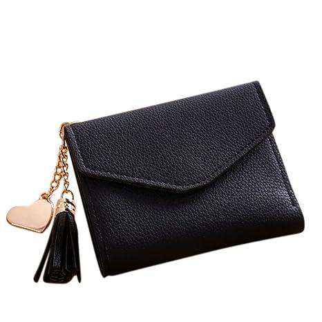 Amazon.com: shininglove elegante mujer Mini Embossed Tassel ...