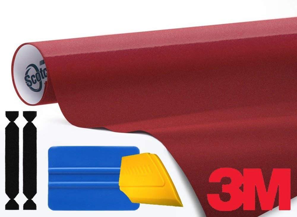 3M 1080 Gloss White Vinyl Wrap Roll Including Toolkit 1ft x 5ft