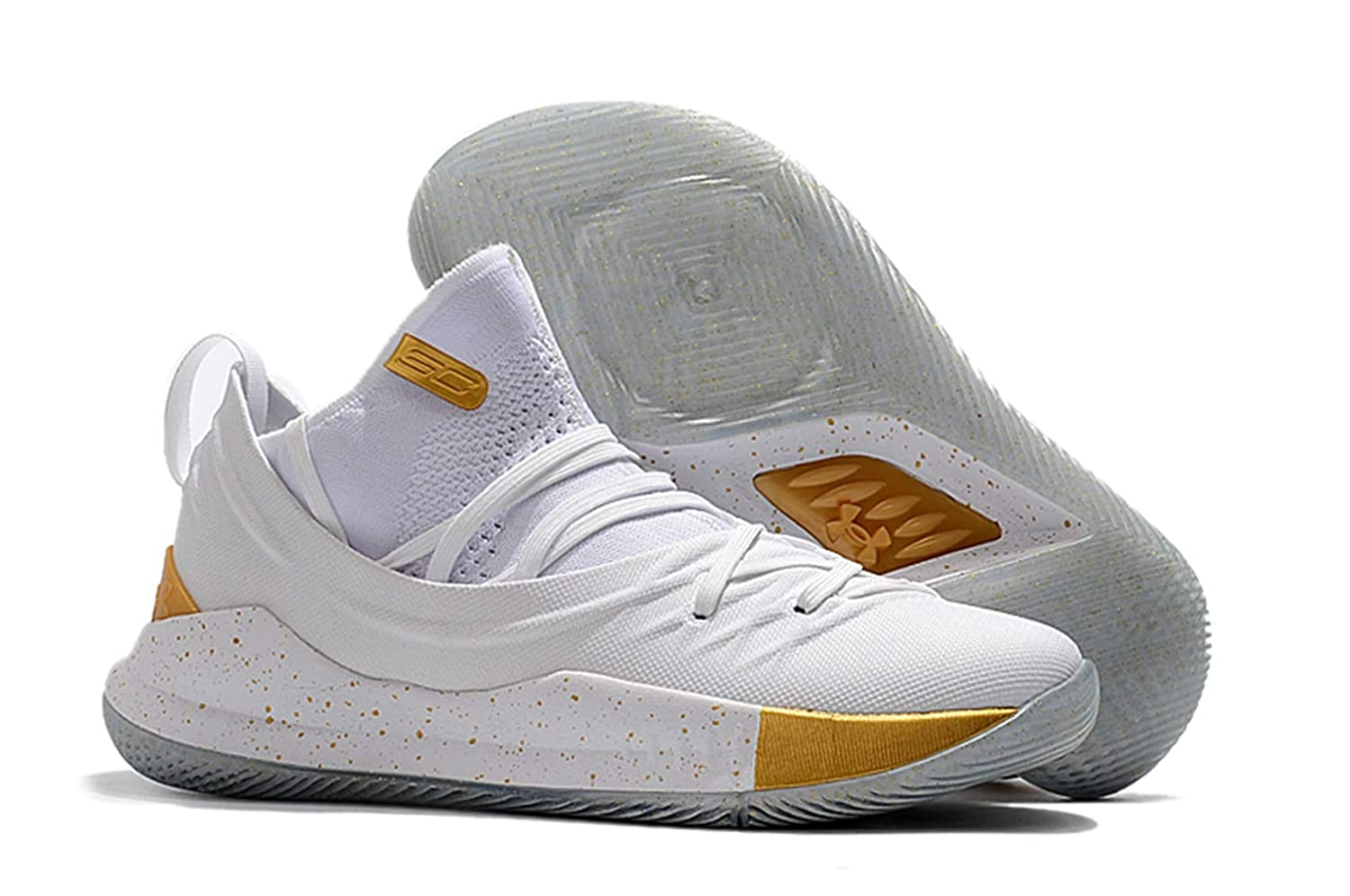 huge discount 4eb68 a82e9 Bazi Sport UA Men's Under Armour Curry 5 Low Basketball Sport Shoes 11 M US