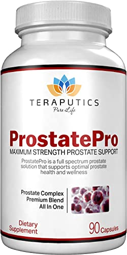 ProstatePro – 33 Herbs Saw Palmetto Prostate Health Supplement for Men Non GMO Prostate Support Bladder Control Pills to Reduce Frequent Urination DHT Blocker to Prevent Hair Loss, 90 Capsules