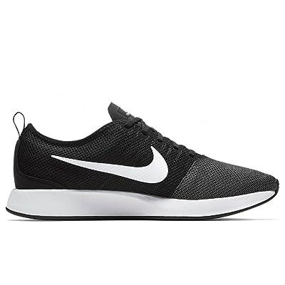 Nike Men's Dualtone Racer Shoe Black/White-Dark Grey 11