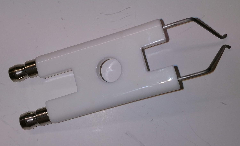 V-EL02.78D//125D.Nr.13006485 Elco Doppelz/ündelektrode 80 mm,V-EL01.34//51//75