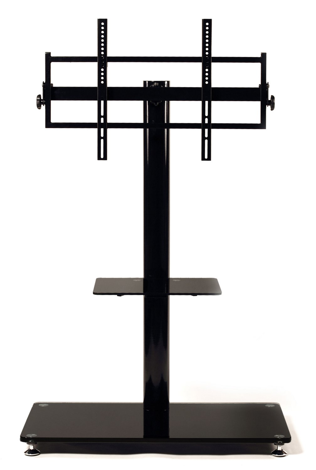 TransDeco TV Stand with Universal Mounting System and Caster for 35 to 65-Inch LCD/LED TV