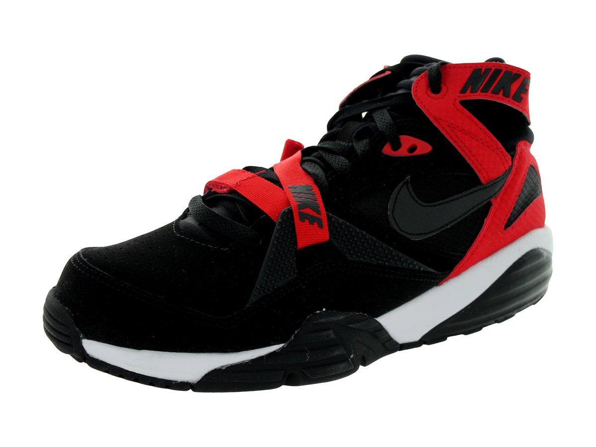 Nike Air Trainer Max '91 Men's Basketball Shoes B009LOUC40 12 M US Black / University Red