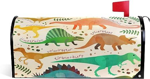 CPYang Vintage Colorido Animal Dinosaurios magnético Caja de ...