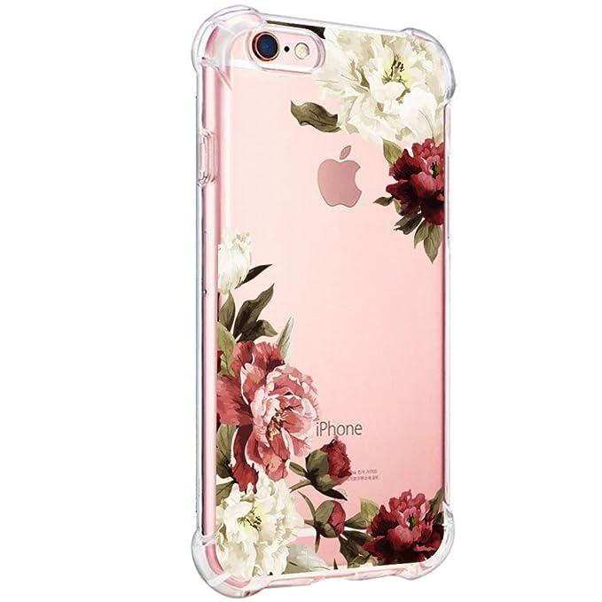 Teryei Funda iPhone 6 Plus/iPhone 6S Plus Silicona Carcasa Clear TPU Protección ultra slim Transparente Caso cover Parachoques Suave Anti-arañazos ...