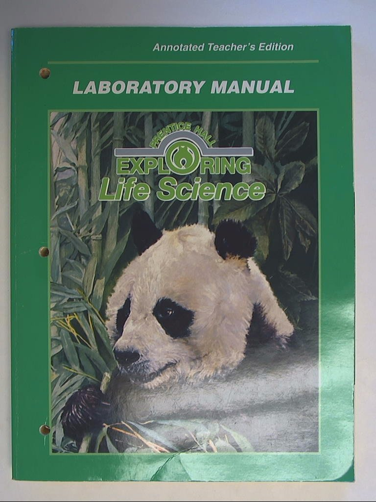 Prentice Hall Exploring Life Science: Laboratory Manual, Annotated  Teacher's Edition: Anthea Maton: 9780138078430: Amazon.com: Books