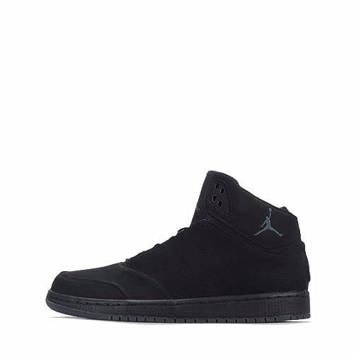outlet store 1873b 5547f Nike Uomo Jordan 1 Flight 5 Premium Black Scarpe Sportive alte 881434 010 -  Nero,