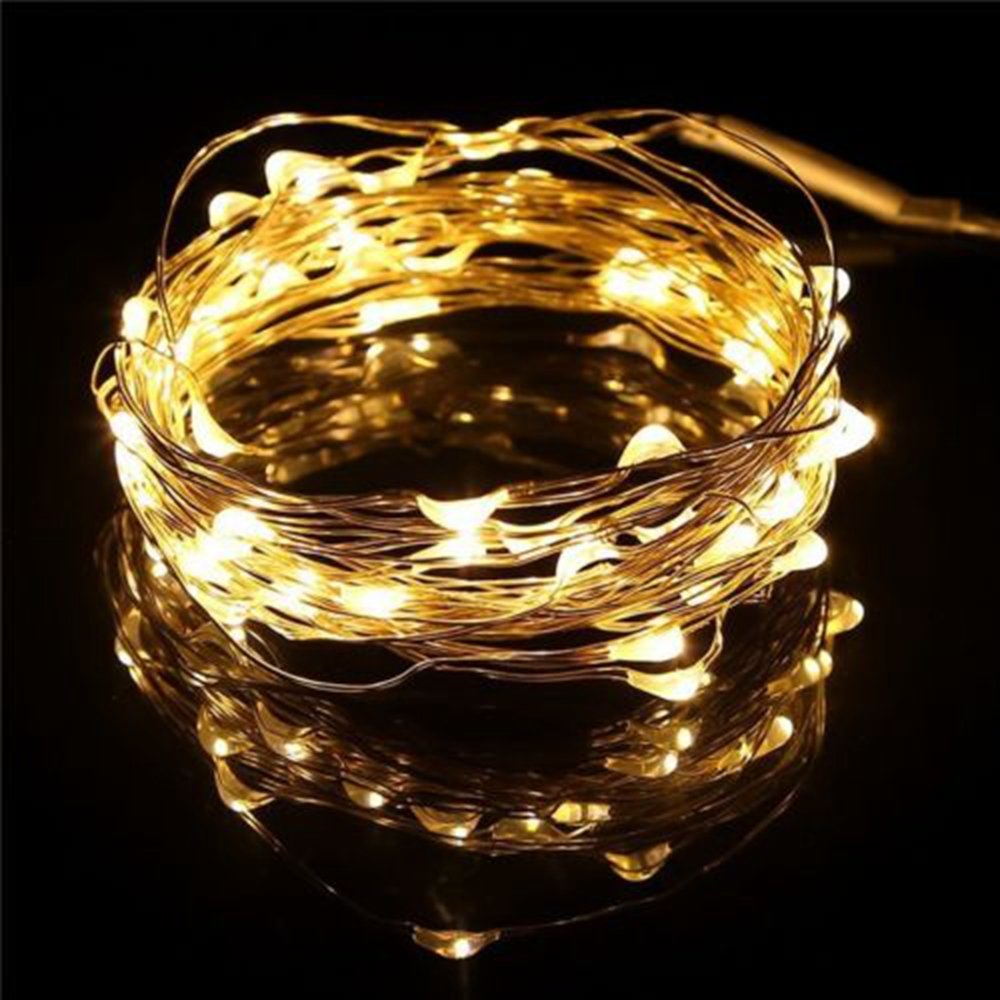 100//200//300//400 LED String Fairy Wedding Lights Lamp Party Indoor Outdoor Decor