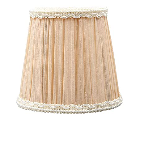 4 7x3 5x4 5 Inches Empire Beige Chandelier Lamp Shade Clip