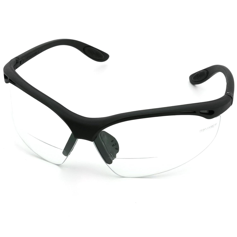 Aerotec® Schutzbrille mit integrierter Lesebrille EAGLE EYE+1,0 | +1,5 | +2,0 | +2,5 | +3,0 dpt Dioptrien Bügel- Brille, 2,5 Dioptrie