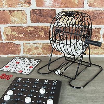Global Gizmos Traditional Bingo Lotto Game Set: Toys & Games